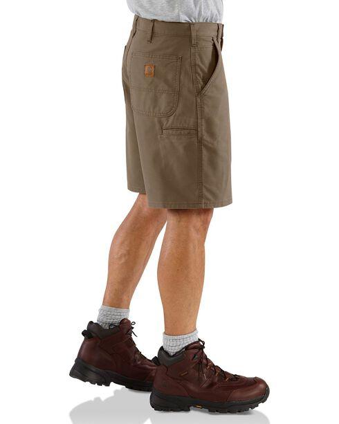 Carhartt Men's Work Shorts, Brown, hi-res