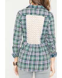 White Crow Zelda Plaid Shirt, , hi-res