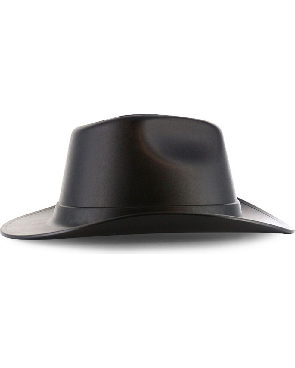 MSA Vulcan Cowboy Hard Hat, Black, hi-res