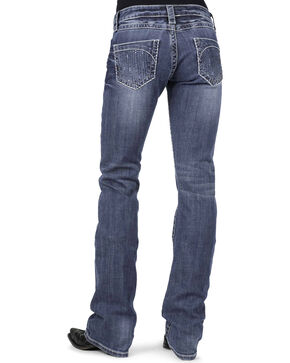 Stetson Women's Hollywood Boot Cut Jeans, Denim, hi-res
