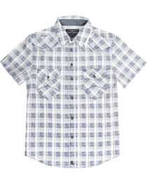 Cody James® Men's Button Up Plaid Short Sleeve Shirt, , hi-res