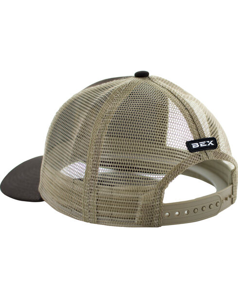 BEX Boys' Brown Khaki Icon Logo Cap, Brown, hi-res