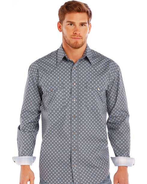Rough Stock by Panhandle Men's Pattern Long Sleeve Shirt , , hi-res
