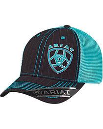 Ariat Men's Offset Logo Ball Cap, , hi-res