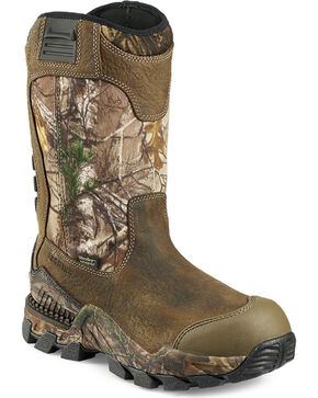 Red Wing Irish Setter Men's Realtree Xtra UltraDry Hunting Boots , Camouflage, hi-res