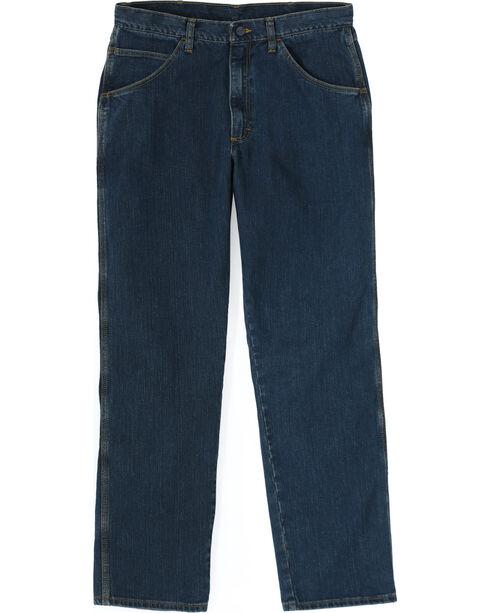 Wrangler Men's Flame Resistant Advanced Comfort Jeans, Midstone, hi-res