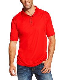 Ariat Men's Red AC Polo, , hi-res