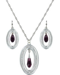Montana Silversmiths Framed Evening Mist Jewelry Set  , , hi-res