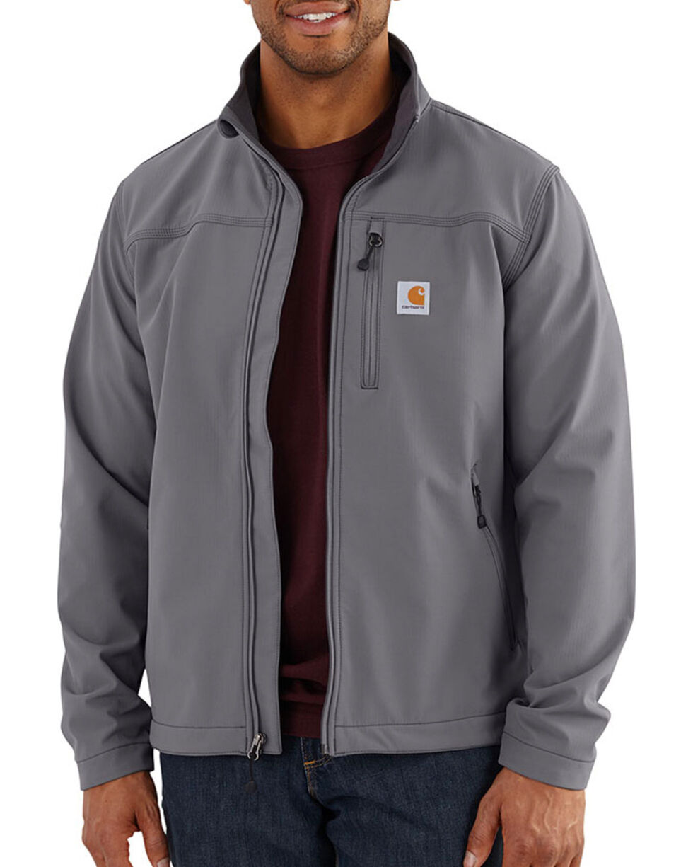 Carhartt Men's Charcoal Denwood Jacket , Charcoal, hi-res