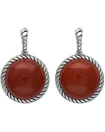 Montana Silversmiths Canyon Colors Redstone Drops Earrings, , hi-res