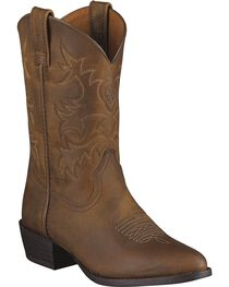 Ariat Boys' Heritage Western Boots, , hi-res