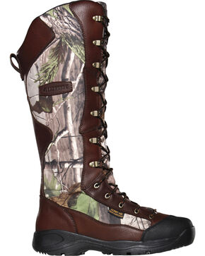 LaCrosse Men's Venom Scent Realtree APG HD Snake Boots, Camouflage, hi-res