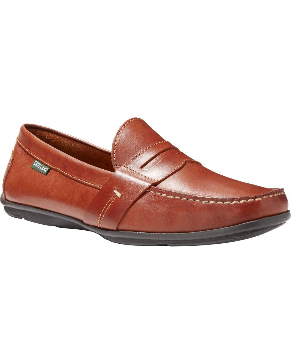 Eastland Men's Pensacola Slip-On Loafers - Moc Toe, Tan, hi-res