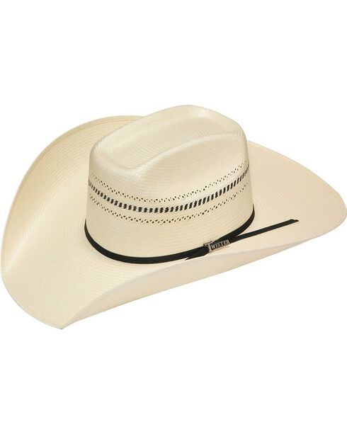 Twister 10X Shantung Colton Straw Cowboy Hat, Natural, hi-res