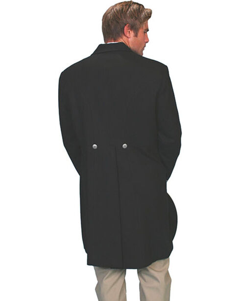 WahMaker by Scully Wool Frock Coat - Big & Tall, Black, hi-res