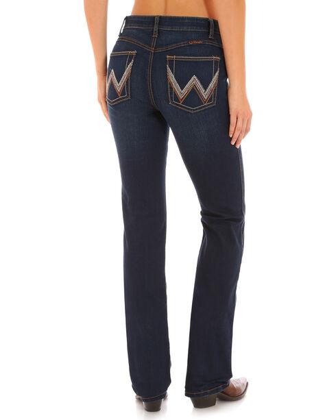 Wrangler Women's Ultimate Riding Indigo Q-Baby Jeans - Boot Cut , , hi-res