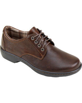 Eastland Women's Brown Alexis Oxfords , Brown, hi-res