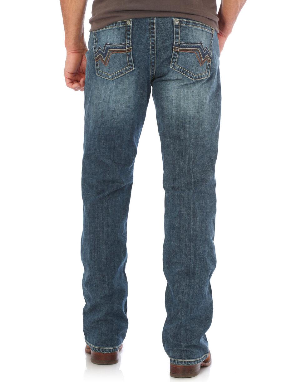 Wrangler 20X Men's Stretch Denim Vintage Boot Cut Jeans, Indigo, hi-res