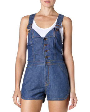"Miss Me Denim ""Shortalls"" , Denim, hi-res"