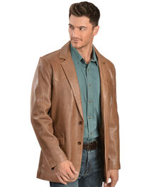Scully Lamb Leather Blazer - Big & Tall, , hi-res