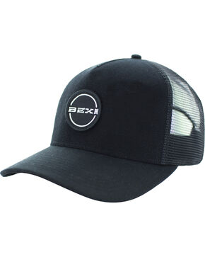 BEX Men's Sherk Velcro Logo Patch Cap, Black, hi-res