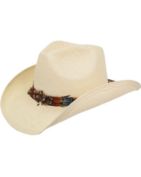 Peter Grimm Women's Ivory Mendi Cowgirl Hat , Ivory, hi-res