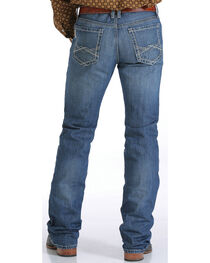 Cinch Men's Ian Stonewash Boot Cut Jeans, , hi-res