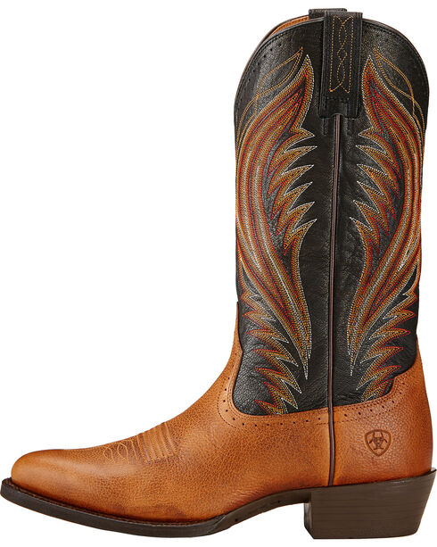 Ariat Men's Boomtown Western Boots, Copper, hi-res