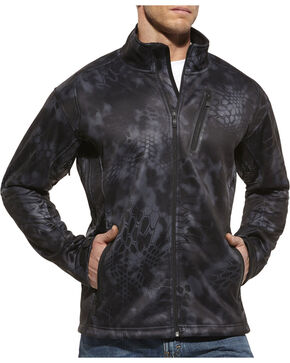 Ariat Men's Kryptek Typhoon Performance Zip-Up Jacket, Black, hi-res