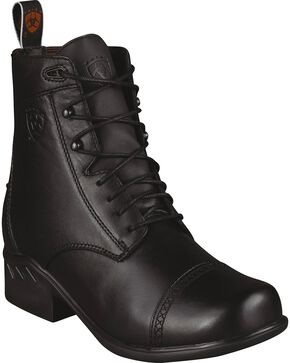 Ariat Women's Heritage Rt Paddock Boots, Black, hi-res