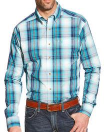 Ariat Men's Watson Pro Series Plaid Shirt, , hi-res