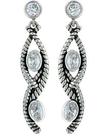 Montana Silversmiths Women's Skipping Along Earrings, , hi-res