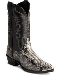 Laredo Men's Monty Snake Print Western Boots, , hi-res