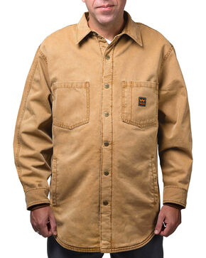 Walls Men's Vintage Fleece Lined Jacket, Pecan, hi-res