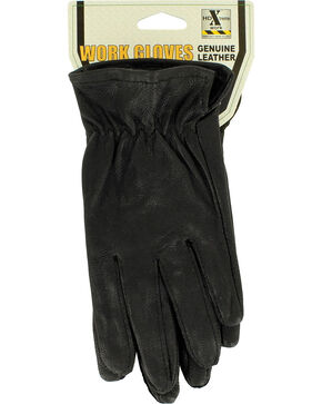HDXtreme Kids' Goatskin Gloves, Black, hi-res