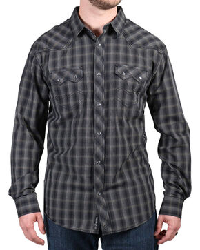 Moonshine Spirit® Men's Unforgiven Long Sleeve Shirt, Black, hi-res