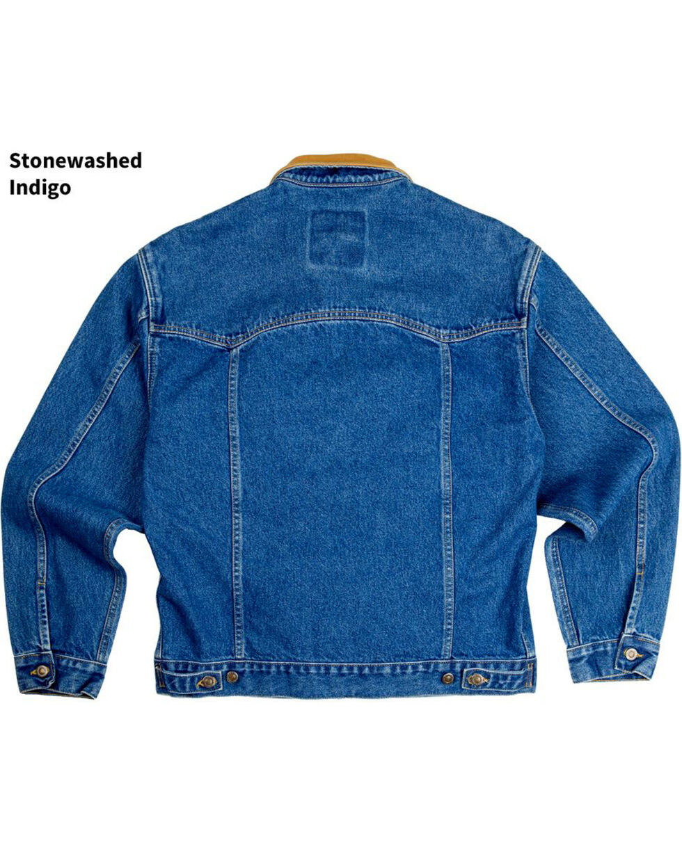 Schaefer Outfitter Men's Legend Denim Jacket , Indigo, hi-res