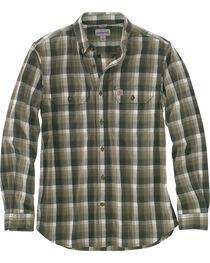 Carhartt Men's Fort Plaid Long-Sleeve Shirt , , hi-res