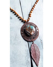 Jewelry Junkie Women's Picture Jasper Necklace  , , hi-res