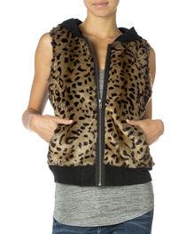 Miss Me Wild Life Hoodie Vest, , hi-res