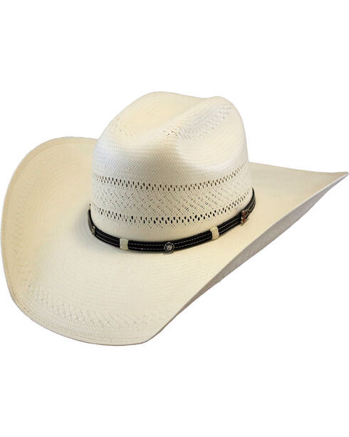 Justin Men's Ivory 50X Renner Straw Hat , Ivory, hi-res