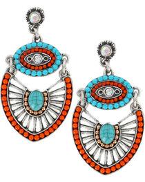 Shyanne® Women's Beaded Charm Earrings, , hi-res