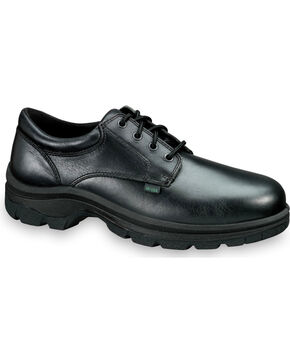 Thorogood Women's SoftStreets Postal Certified Oxfords, Black, hi-res