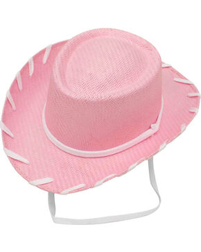 Twister Girls' Pink Woody Cowboy Hat , Pink, hi-res