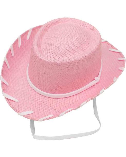 Twister Girls' Pink Woody Cowboy Hat , Pink, hi-res