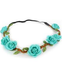 Shyanne® Women's  Braided Flower Crown Headband, , hi-res