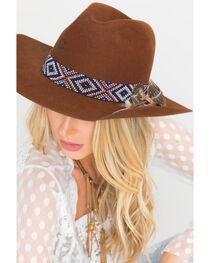 Charlie 1 Horse Cognac Old Hag 5X Felt Hat , , hi-res