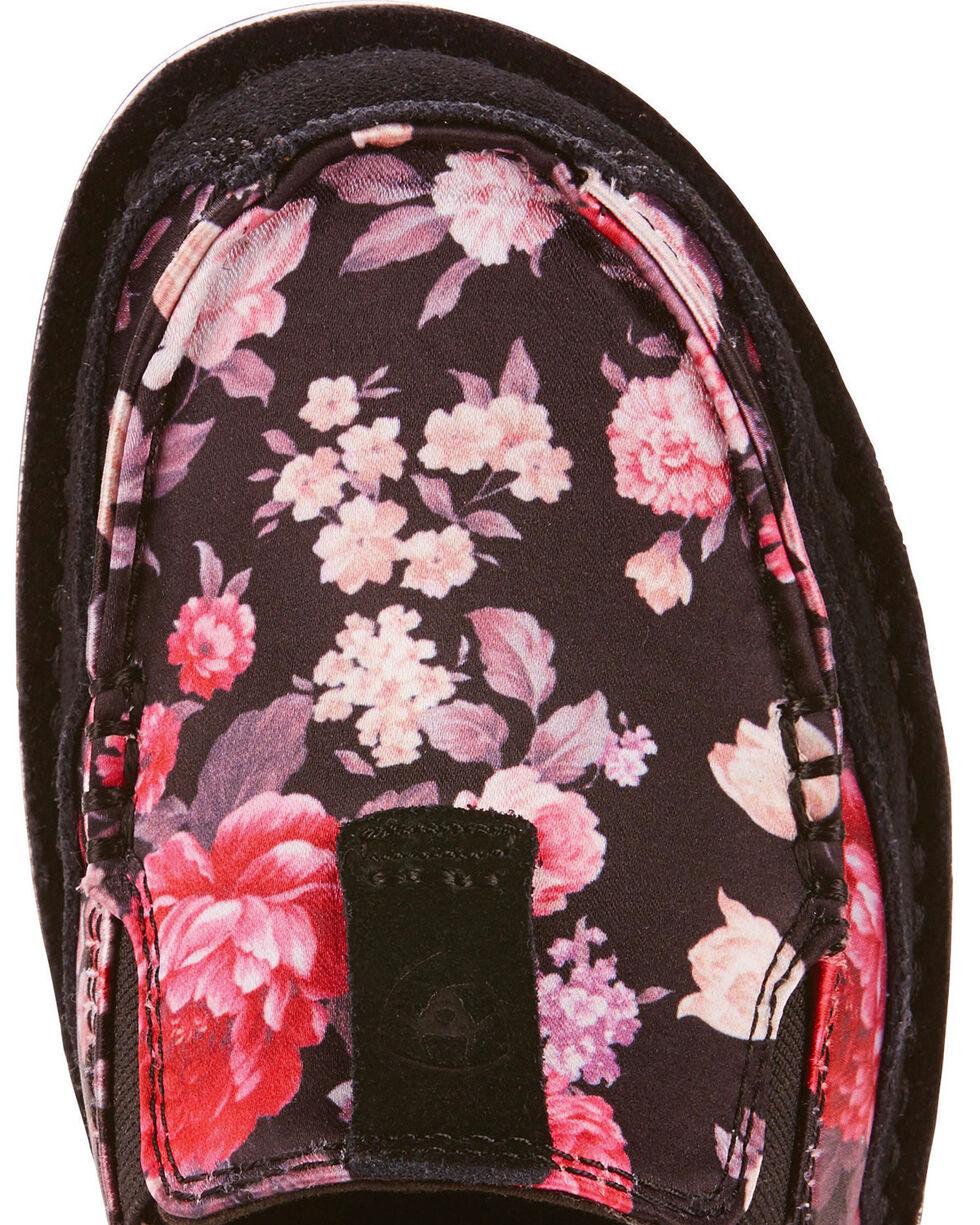 Ariat Women's Satin Floral Cruiser Slip On Shoes - Moc Toe, , hi-res