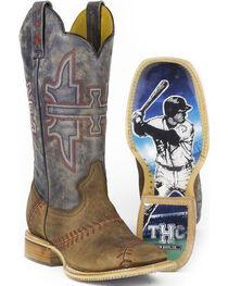 Tin Haul Men's Slugger Cowboy Boots - Square Toe, , hi-res