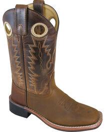 Smoky Mountain Boys' Jesse Western Boot - Square Toe , , hi-res